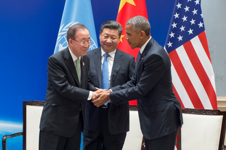 China and United States Formally Join Paris Agreement