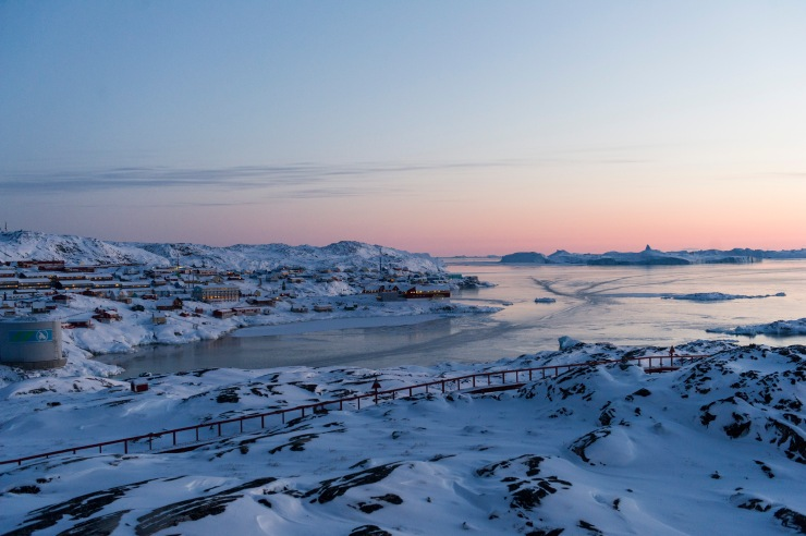 SG On route to Ilulissat